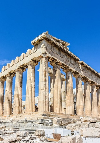 Akropol w Atenach - stolicy Grecji